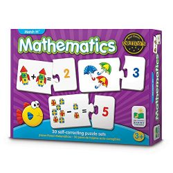 The Learning Journey Match It! – Mathematics – STEM Addition and Subtraction Game Helps to Teach Early Math Facts 30 Matching Pairs