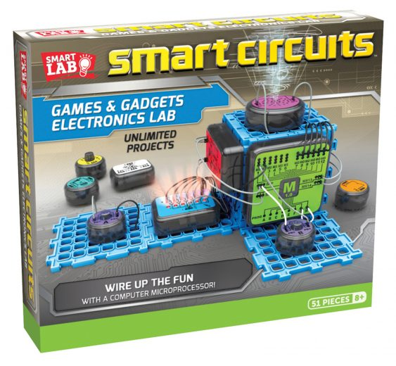 Smart Circuits Games and Gadgets Electronics Learning Lab for Unlimited Projects