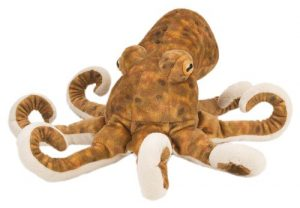 Wild Republic Octopus Plush, Stuffed Animal, Plush Toy, Gifts for Kids, Cuddlekins 12 Inches