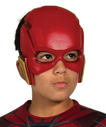 Rubie's Costume Boys Justice League Flash Half-Mask Costume, One Size