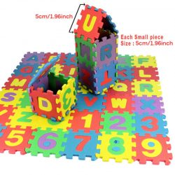 36 pcs Baby Kids Alphanumeric Educational Puzzle Blocks Infant Child Toy Gift @3