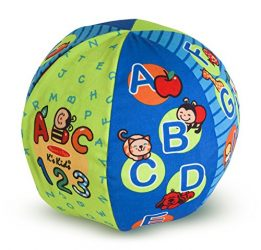 Melissa & Doug K's Kids 2-in-1 Talking Ball Educational Toy – ABCs and Counting 1-10
