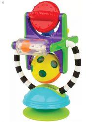 Sassy Illumination Station Baby Light Up Spinning Ball Toy