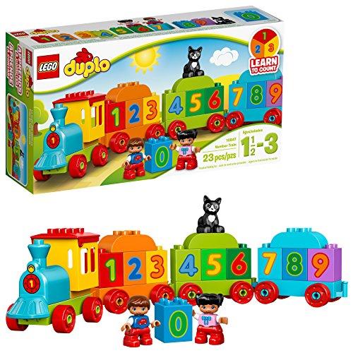 LEGO DUPLO My First Number Train 10847 Preschool Toy