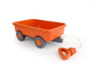 Green Toys WAGON Outdoor Toy Orange