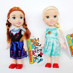 16 cm Children Baby Toddlers Kids Disney Princess Anna & Elsa Figures Dolls Toy