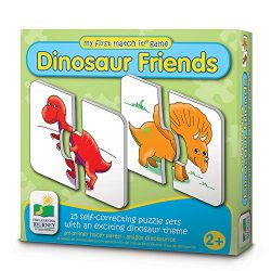 The Learning Journey My First Match It – Dinosaurs – 15 Self-Correcting Matching Puzzles
