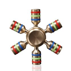 Hand Spinner Tri Fidget metal Ball Desk Focus Toy EDC For Kid Game Play USA Ship