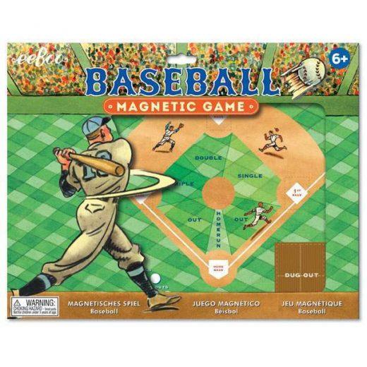 Eeboo Baseball Magnetic Game New
