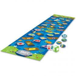 Learning Resources Crocodile Hop Floor Game 10'x14″ Ast LER9544