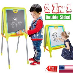 Kids Drawing Board Magnetic Writing Sketch Erasable Doodle Children Gift Toy Fun