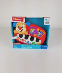 Fisher Price Laugh and Learn Puppys Piano Musical Learning Toddler Baby Toy NEW