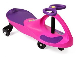 PlasmaCar The Original by PlaSmart – Pink/Purple – Ride On Toy, Ages 3 yrs and Up, No batteries, gears, or pedals, Twist, Turn, Wiggle for endless fun