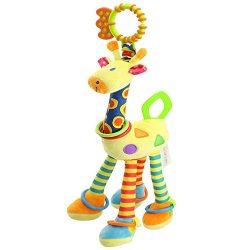 FOREAST 1 Kids Handbells Rattles Baby Soft Plush Toys Developmental Infant Birthday Present