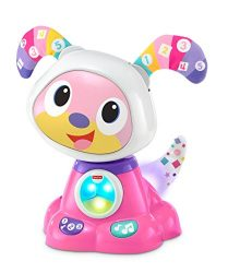 Fisher-Price Bright Beats Dance & Move Beat Bowwow, Pink