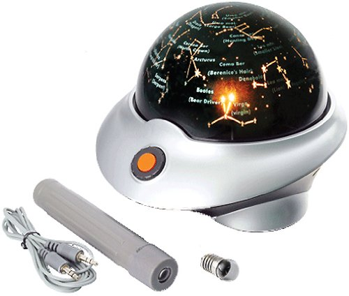 Edu-Toys Talking Galaxy Planetarium With Night Light