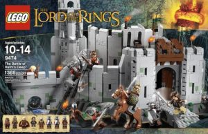 LEGO The Lord of the Rings 9474 The Battle of Helm's Deep (Discontinued by manufacturer)