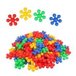 120PC Building Blocks Creative Educational STEM Interlocking Kids Toys Discs Set