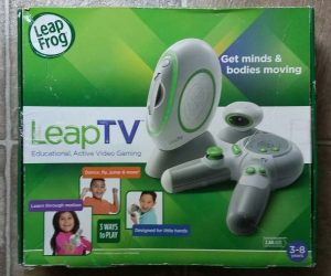 LeapTV Educational Active Video Game System – Leap TV Leap Frog Learning Console