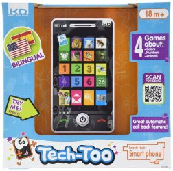 Kidz Delight Smooth Touch Smart Phone Developmental Learning Baby Toddler Toy