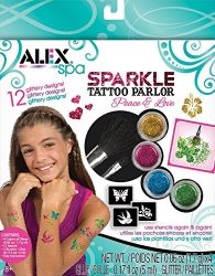 ALEX Spa Fun Sparkle Tattoo Parlor – Peace and Love