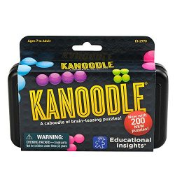 Educational Insights Kanoodle – Brain Twisting Solitaire Game
