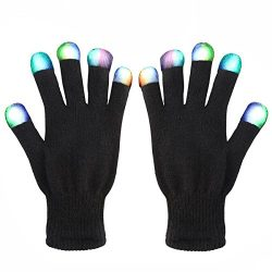 Creative Toys for Girls Boys, TOP Toy Flashing LED Gloves Gifts for Teen Girls Boys Toys for 3-12 Year Old TTUSTTG03
