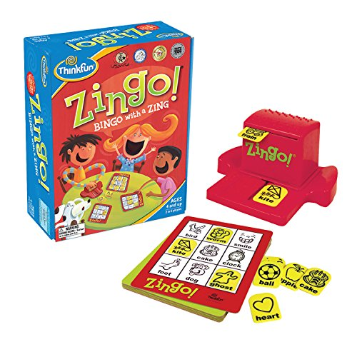 Think Fun Zingo Sight Words Early Reading Game – Toy of the Year Finalist, Developed by Educators for Pre-K to 2nd Graders