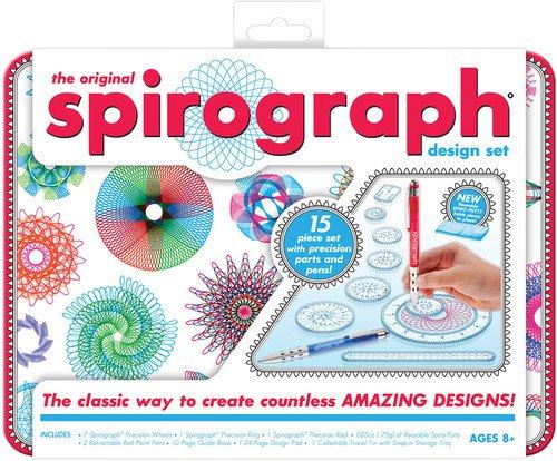 Kahootz Spirograph Design Tin Set