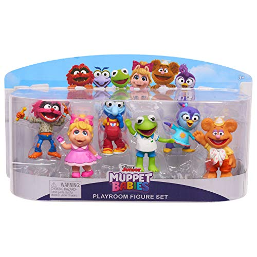 Muppets Babies 6pk Figure, Multicolor