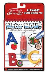 Melissa & Doug On the Go Water Wow! Reusable Water-Reveal Activity Pad – Alphabet