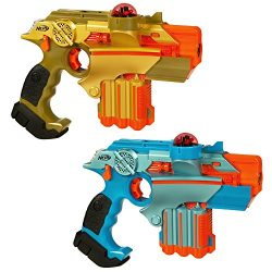 Nerf Official: Lazer Tag Phoenix LTX Tagger 2-pack – Fun Multiplayer Laser Tag Game (Amazon Exclusive)