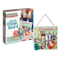 CRAFTIVITY Dare to Dream Board Craft Kit