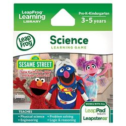 LeapFrog Learning Game: Sesame Street Solve it with Elmo (for LeapPad Tablets and LeapsterGS)