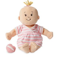 Manhattan Toy Baby Stella Peach Soft First Baby Doll for Ages 1 Year and Up, 15″