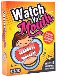 Watch Ya Mouth Family Edition – The Authentic, Hilarious, Mouthguard Party Card Game