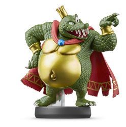 Nintendo amiibo – King K. Rool – Super Smash Bros. Series – Nintendo Wii;GameCube;