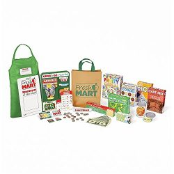 Melissa & Doug 5183 Fresh Mart Grocery Store Play Food & Role Play Companion Set (70+ Pieces) Role Play Toy