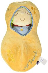 Manhattan Toy Snuggle Pod Lil' Peanut First Baby Doll with Cozy Sleep Sack for Ages 6 Months and Up