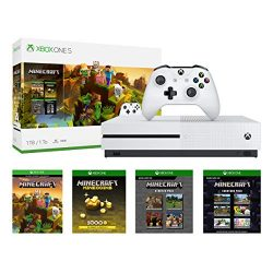 Xbox One S 1TB Console – Minecraft Creators Bundle