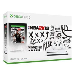 Xbox One S 1TB Console – NBA 2K19 Bundle