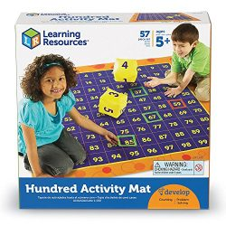 Learning Resources Hundred Activity Mat, Play Mat