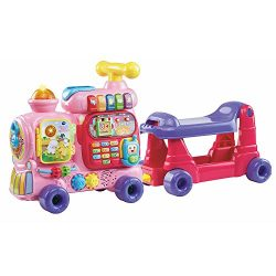 VTech Sit-to-Stand Ultimate Alphabet Train, Pink