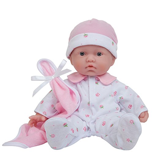 JC Toys, La Baby 11-inch Washable Soft Body Play Doll For Children 12 months or Older, Designed by Berenguer