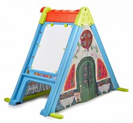 Feber Play & Fold Activity House 3in1 – Playset – Easy to Store – Indoor and Outdoor – for Kids from 2 Years Old