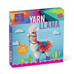 Craft-tastic – Yarn Llama Kit – Craft Kit Makes 1 Yarn-Wrapped Llama