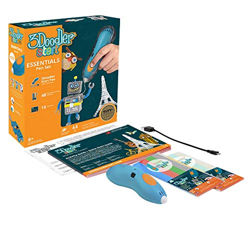 3Doodler Start Essentials 3D Pen Set For Kids with Free Refill Filaments – STEM Toy For Boys & Girls, Age 6 & Up – Toy of The Year Award Winner