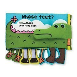 Melissa & Doug Soft Activity Baby Book – Whose Feet?