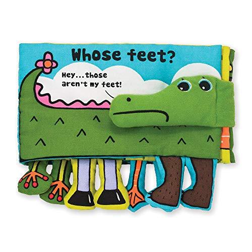 Melissa & Doug Soft Activity Baby Book – Whose Feet?