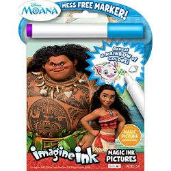 Bendon 73581 Disney Moana Imagine Ink Magic Ink Pictures